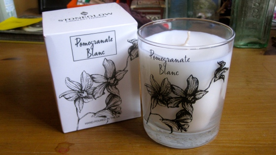 Pomegranate Blanc candle £11