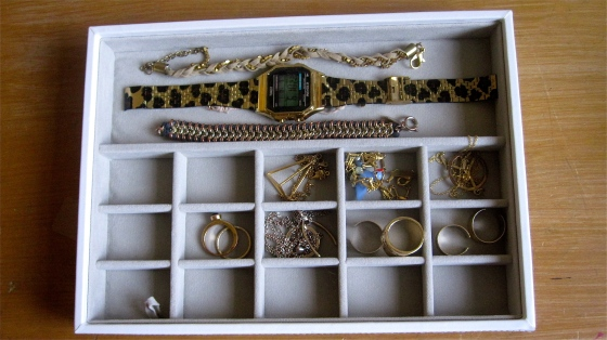 Stacker's jewellery organiser